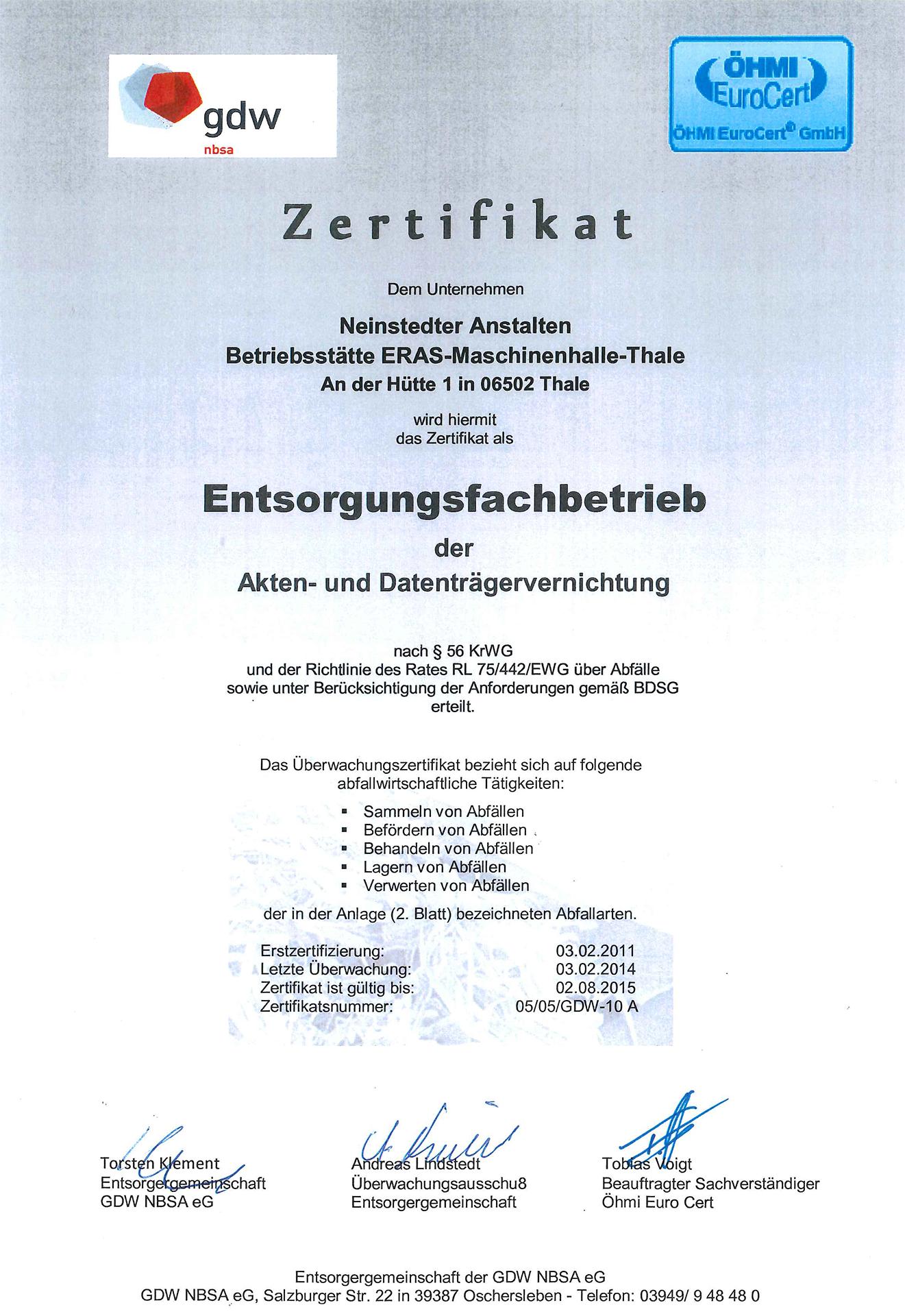 Fantastisch Zertifikat Der Empfehlung Vorlage Fotos - Entry Level ...